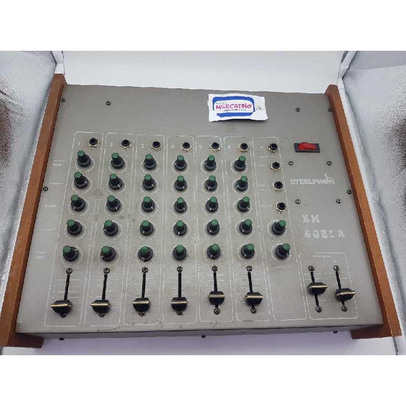 MIXER6021ACON 2 CASSE STEELPHON  | Mercatino dell'Usato Gallarate 1