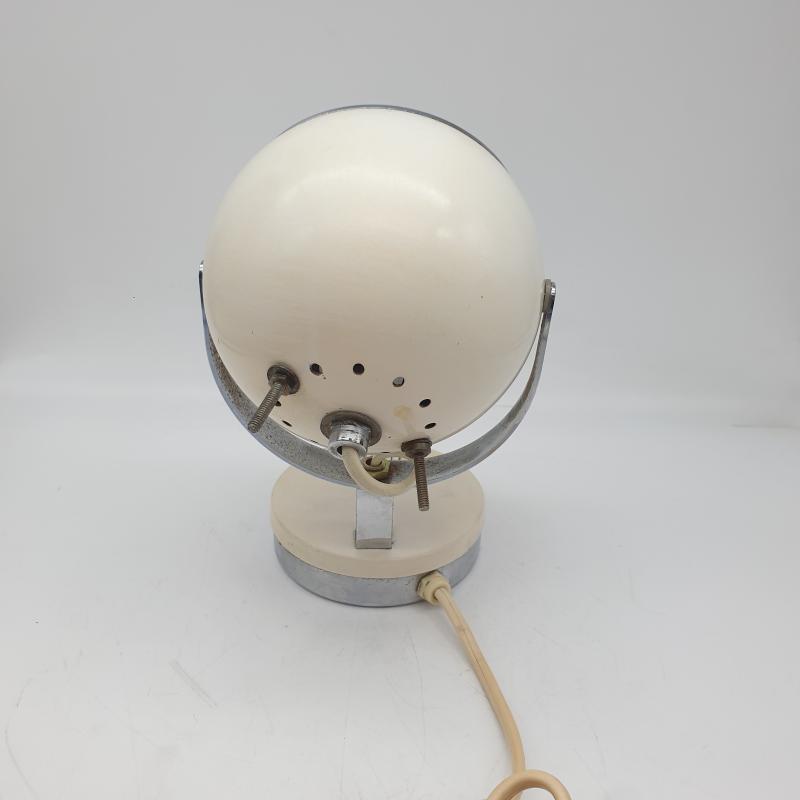 LAMPADA DA TAVOLO SPACE AGE BIANCA ANNI 70 | Mercatino dell'Usato Gallarate 2