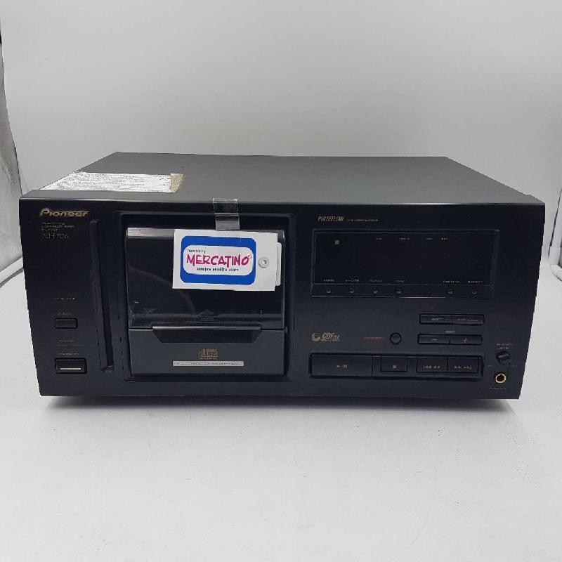 MULTI CD PLAYER PIONEER PD-F706    Mercatino dell'Usato Gallarate 1