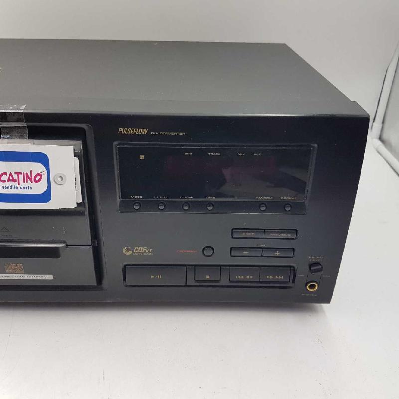 MULTI CD PLAYER PIONEER PD-F706    Mercatino dell'Usato Gallarate 3