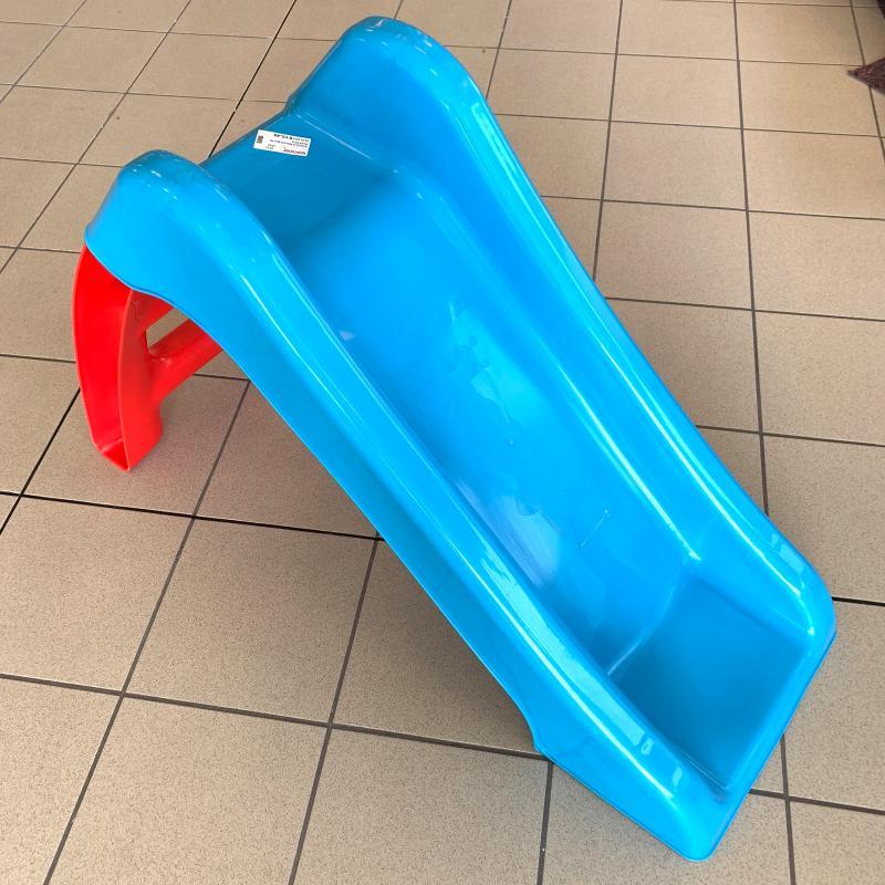 SCIVOLO ROSSO BLU IN PLASTICA | Mercatino dell'Usato Gazzada schianno 1