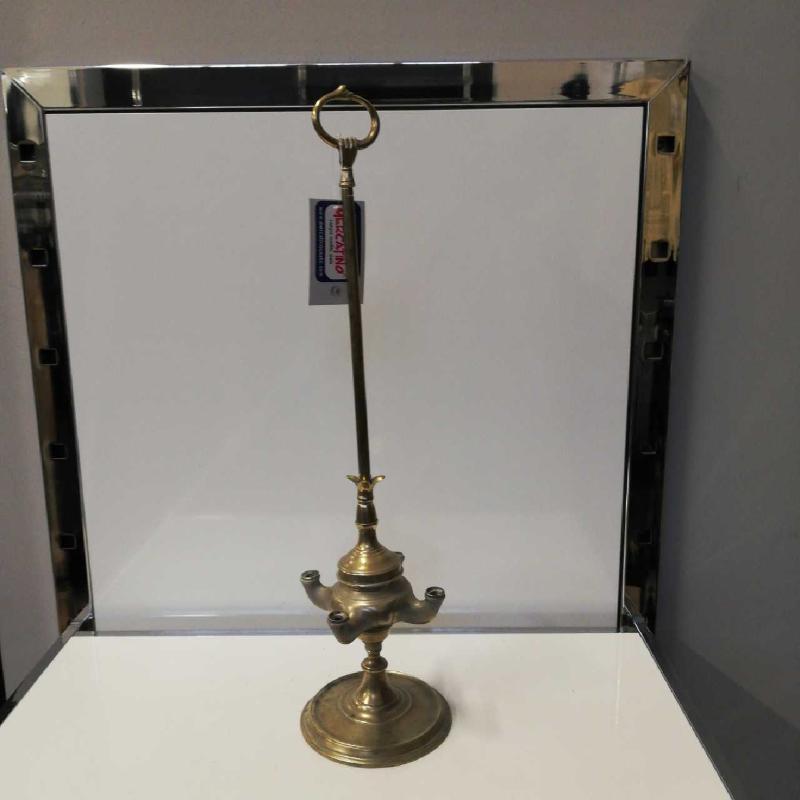 LAMPADA IN OTTONE FIORENTINA | Mercatino dell'Usato Domodossola 1