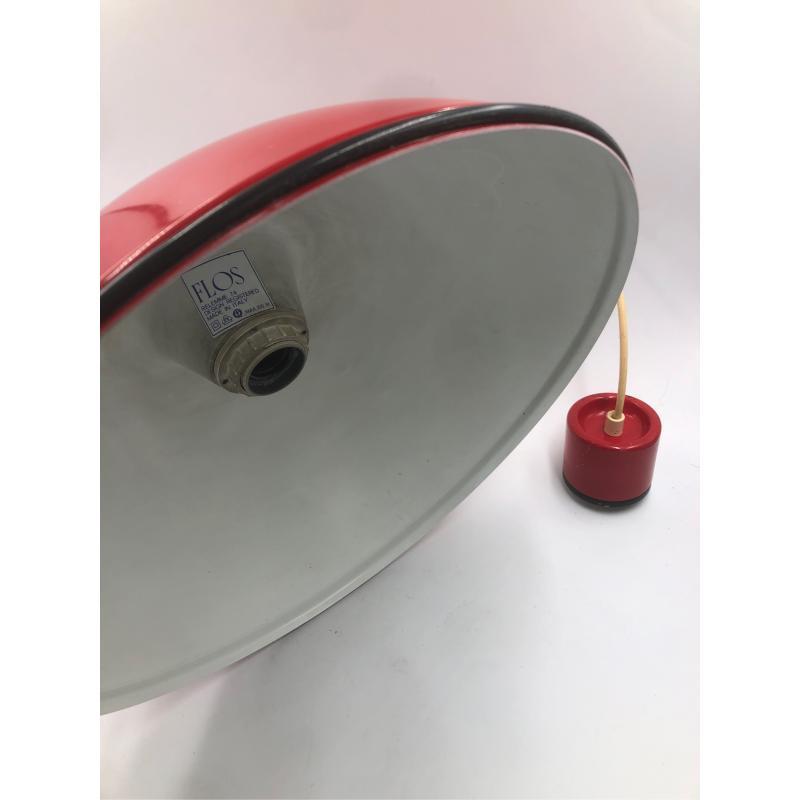 LAMPADARIO ROSSO FLOS A SOSPENSIONE VINTAGE RELEMME 74/75 | Mercatino dell'Usato Chiampo 3