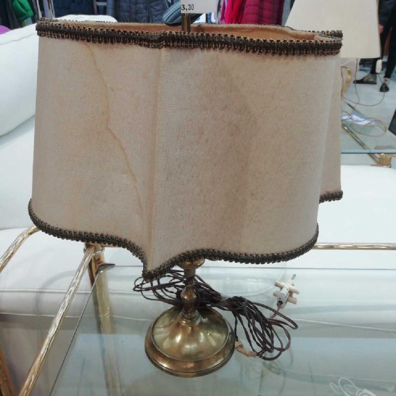 LAMPADA METALLO DORATO 3 LUCI | Mercatino dell'Usato Verona fiera 1